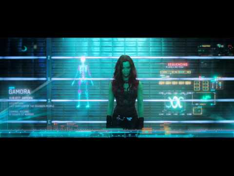 Gamora from Guardians Of The Galaxy   HD