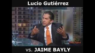 Impactantes declaraciones de Lucio Gutiérrez sobre Rafael Correa