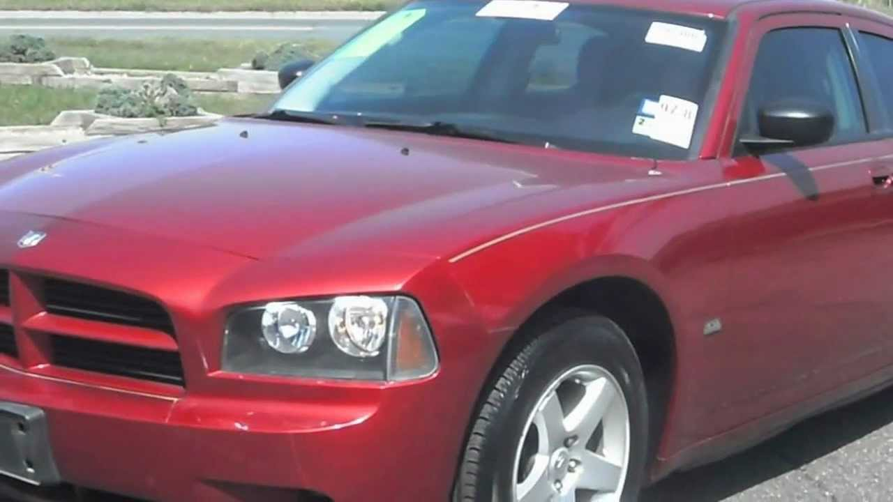 2008 dodge charger sxt 3 5 v6 dark red youtube. Black Bedroom Furniture Sets. Home Design Ideas