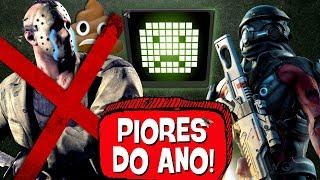 6 PIORES JOGOS de 2017! 💩 👎 - PIPOCANDO GAMES
