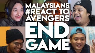 #ZHAFVLOG - DAY 350/365 - MALAYSIANS #REACT TO AVENGERS ENDGAME MOVIE TRAILER | MALAYSIA MARVEL