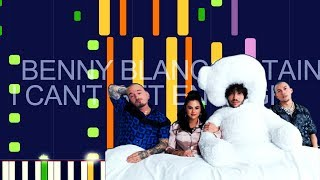 "Benny blanco, selena gomez, j balvin - i can't get enough (pro midi remake) ""in the style of"""