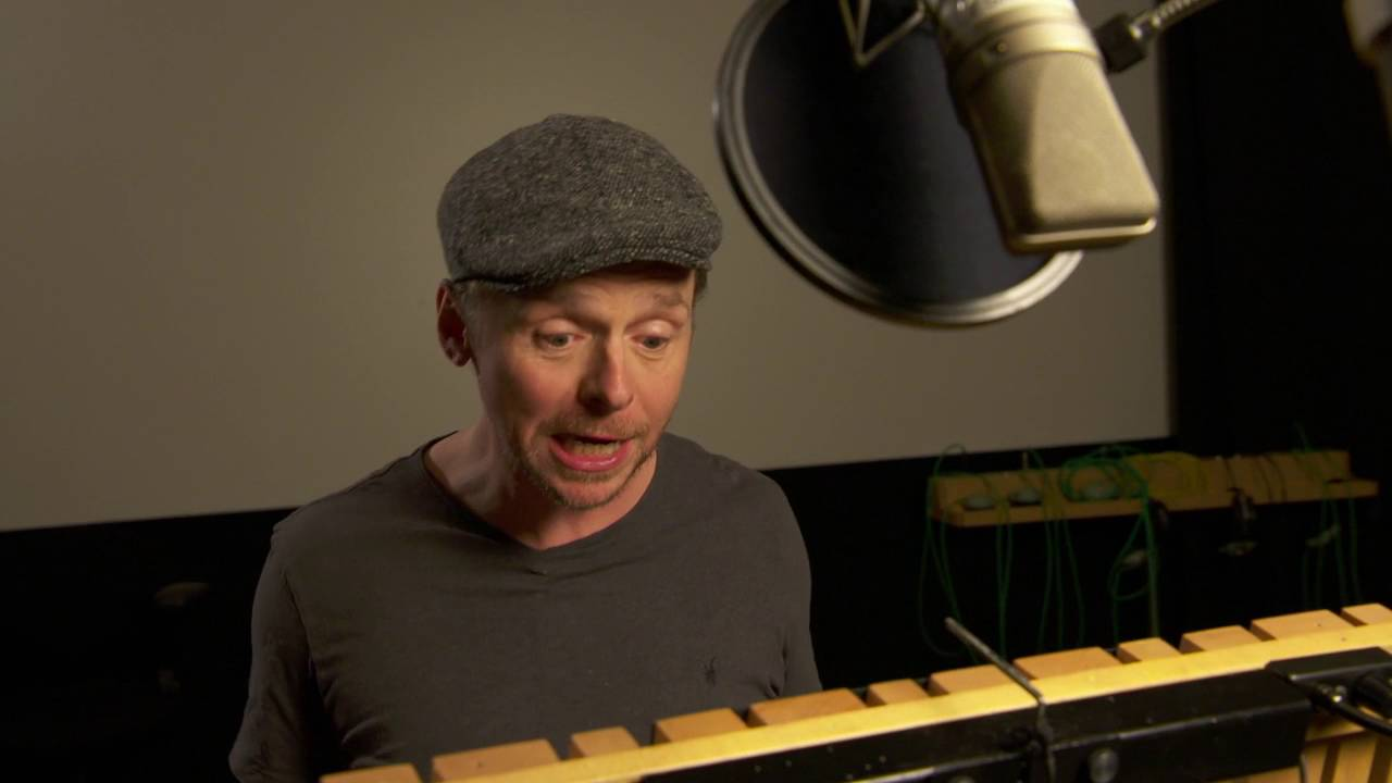"""Download Ice Age: Collision Course: Simon Pegg """"Buck"""" Behind the Scenes Voice Recording"""