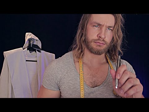 Keep Still Whilst I DRESS YOU For Comic Con [ASMR]
