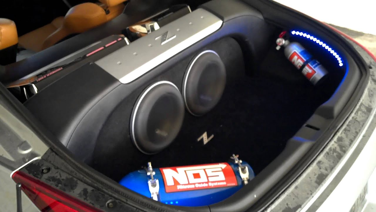350z Sound System Youtube