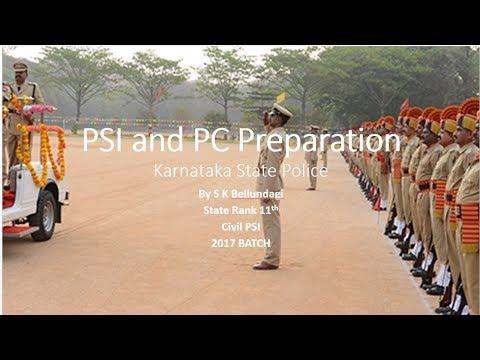 Books List For PSI and PC (Karnataka State Police) Preparation