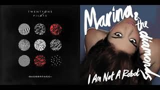 Not A Robot Today - twenty one pilots vs. Marina and the Diamonds (Mashup)