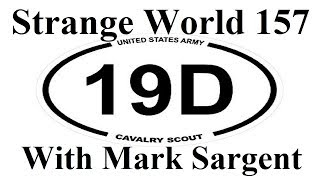 Flat Earth & Army Scout statement SW157 Mark Sargent ✅