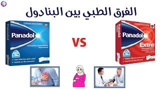 الفرق بين البنادول الاحمر والازرق طبيا Youtube