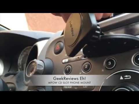 Mpow CD Slot Car Mount Magnetic Phone Holder Review