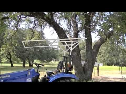 New Holland Tractor Canopy Part 3 & New Holland Tractor Canopy Part 3 - YouTube