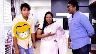 तुमच्या कुत्रा भूंकतो - Funny Neighbour | Marathi Latest Comedy Jokes