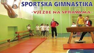Školica sporta Step - Sportska gimnastika (vježbe na spravama)