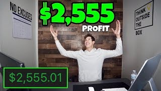 $2,555 PROFIT DAY TRADING IN JANUARY 2019