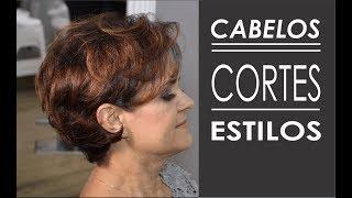CABELOS - CORTES E ESTILOS - Pixie Curly