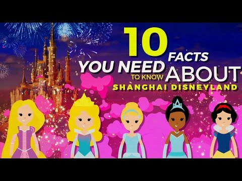 10 Coolest Facts You Need To Know About Shanghai Disney Resort