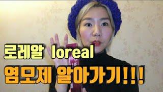 [최디헤어티비] L'Oréal 로레알 염색하기!…