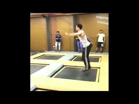 Tiger shroff stunt practice