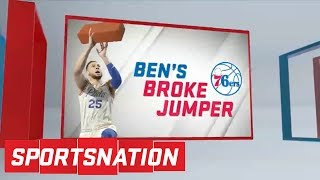 Should Ben Simmons listen to the advice Kobe Bryant had for him? | SportsNation | ESPN