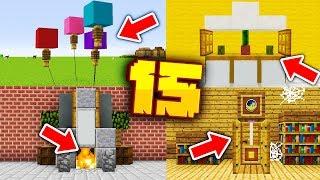 15 NOWYCH DEKORACJI w MINECRAFT 1.14! - Minecraft Pomysłowe Dekoracje