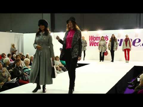 isme Coats & Jackets AW13 Fashion - Catwalk Show at Woman's Weekly Live