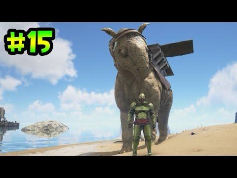 ARK survival evolved - Mi Armadura Dorada y mi nuevo Paraceratherium