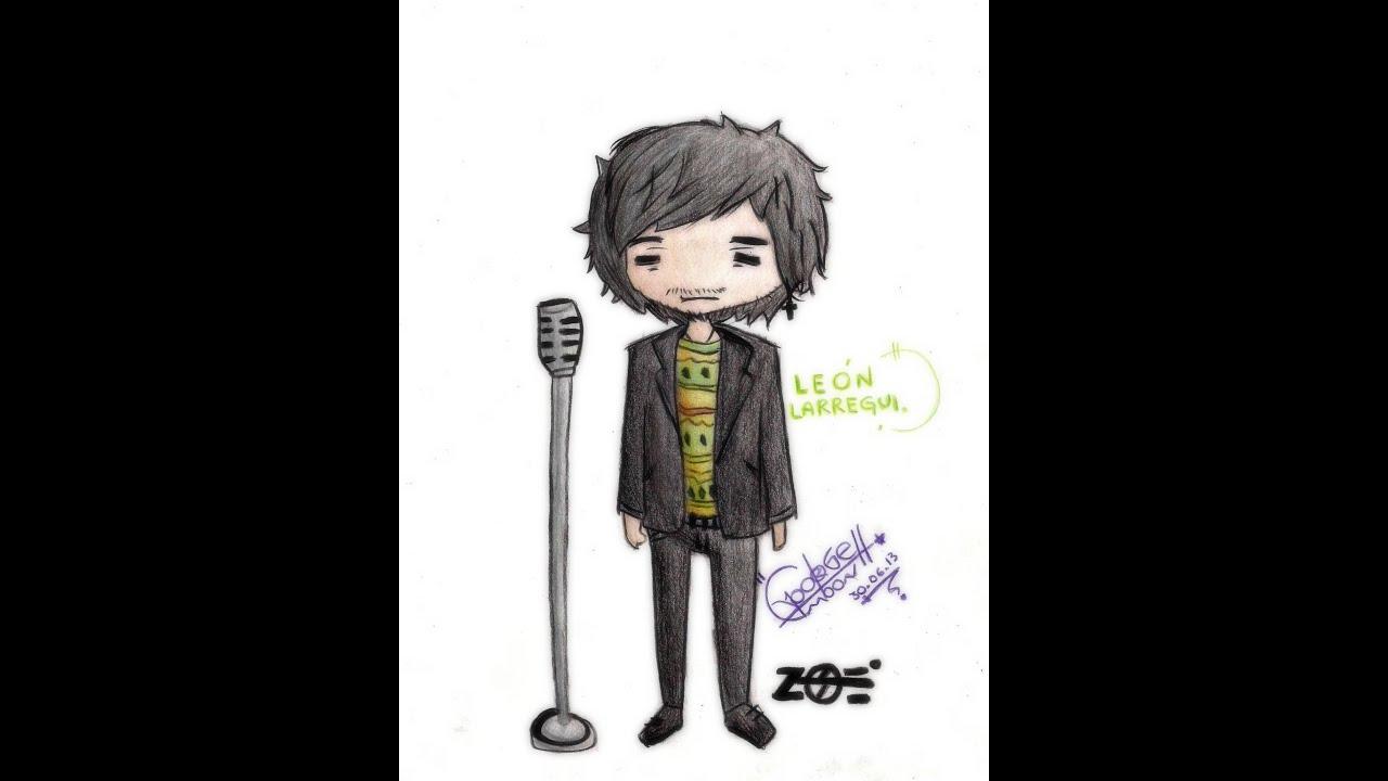 Leon Larregui  dibujo speed  YouTube