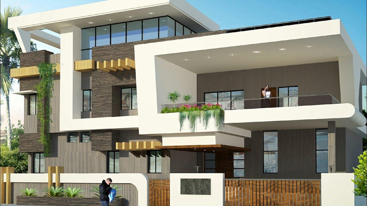 Latest Duplex Floor Elevation Designhome Plans Youtube