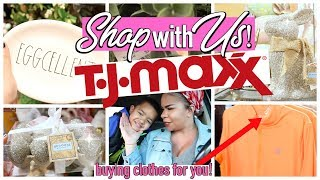 SHOP WITH ME | TJ MAXX | Sensational Finds