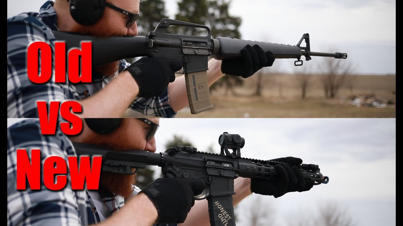Old M16 A1 vs Modern $3000 AR-15: How Far Have We Come In 50 Years?