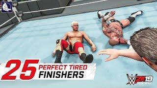 WWE 2K18 Top 25 Tired Finishers (Amazing!)