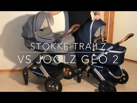 Joolz Geo 2 VS Stokke Trailz. Mechanics, Comfort, Use