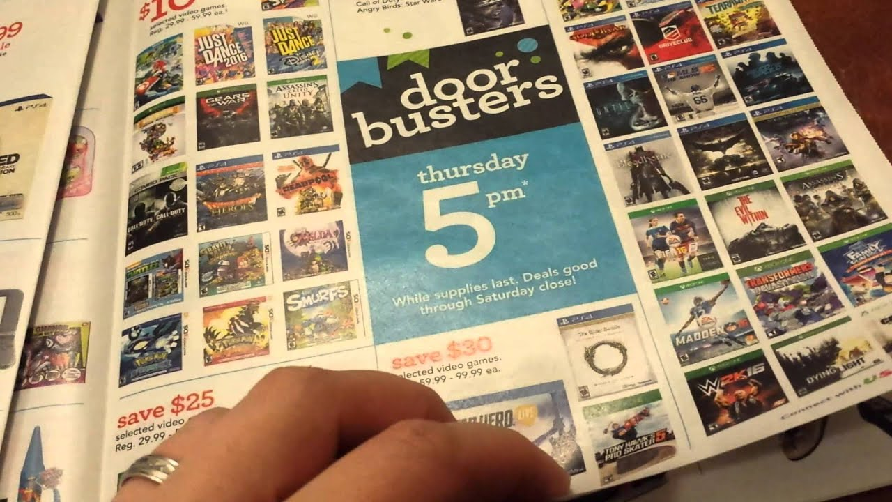 Toys R Us Black Friday Ad Best Deals On Video Games Toys To Life