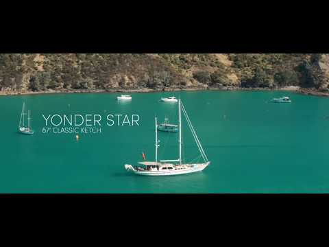 Classic Sailing Yacht Yonder Star for Charter in New Zealand