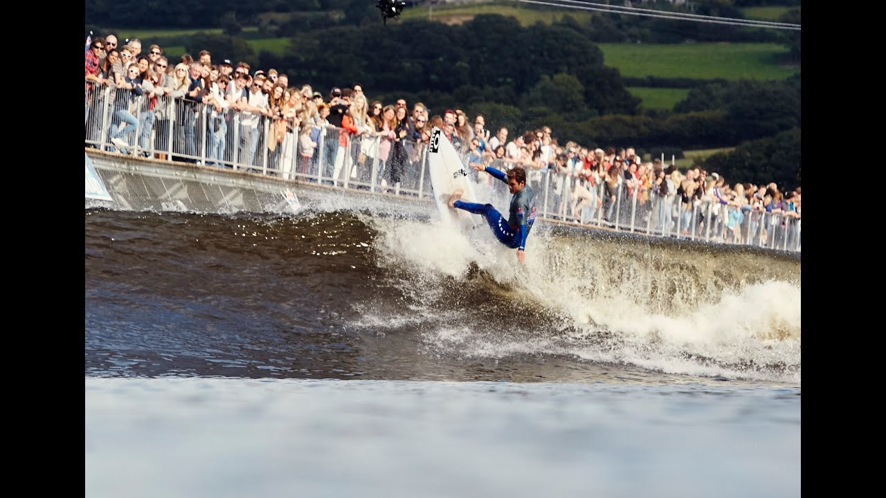 World s First Man Made Wave Surf Contest