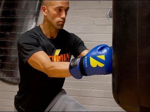 20 Minute Boxing Heavy Bag HIIT