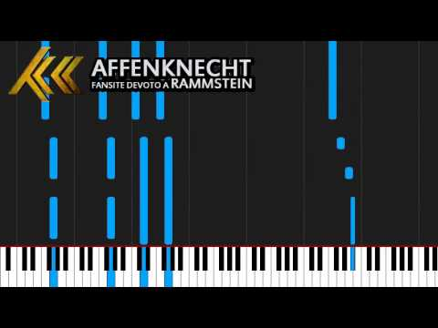 How to play Ohne dich by Rammstein on Piano Sheet Music