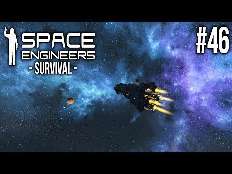 ROCKET LAUNCH! - Space Engineers Survival - Ep 46