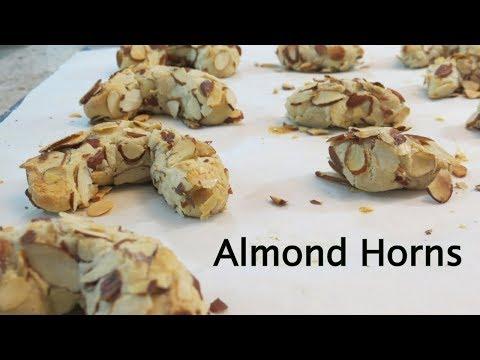 Almond Horns