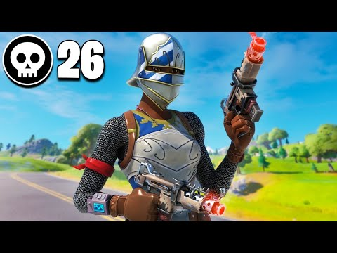INSANE 26 Kill Solo Squad Win!! | Chapter 2 Fortnite
