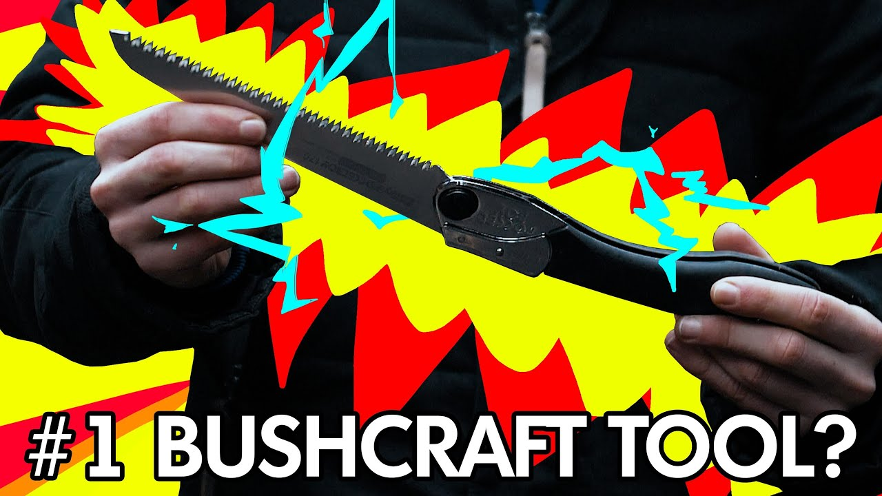 Why THIS might be the #1 MOST important Bushcraft / survival Tool | Silky Pocketboy