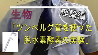 高校生物(専門)「ツンベルク管を使った脱水素酵素の実験」〜理論編〜