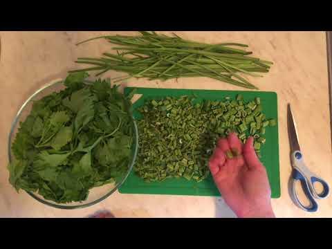 Как приготовить листья сельдерея