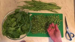 Заморозка сельдерея на зиму | Как сушить листья сельдерея в духовке