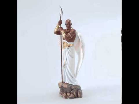 The Sentinel (Black Male Angel) By Thomas Blackshear-African Imports Usa