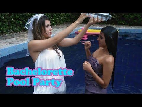 Bachelorette pool party