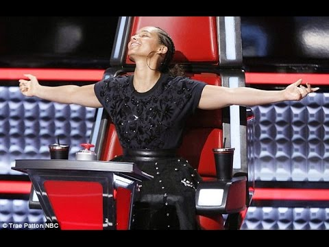 Alicia Keys rejoices after stealing Texas singer Stephanie Rice from Gwen Stefani on The Voice