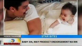 BT: Baby Zia, may product endorsement na rin