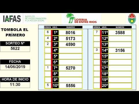 EL PRIMERO 14/06/2019