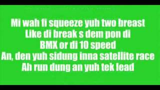 Vybz Kartel -  Bicycle Raw W/ Lyrics